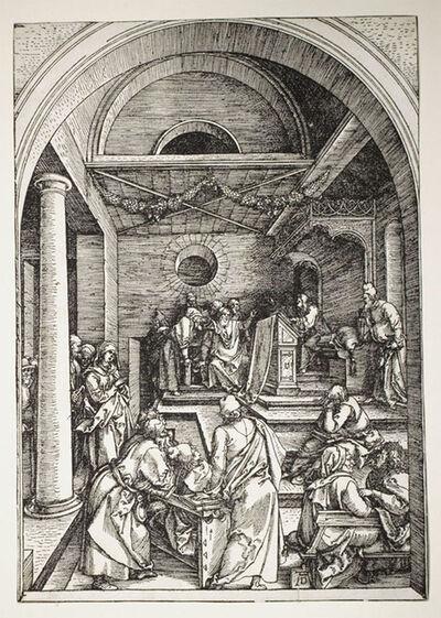 Albrecht Dürer, 'Christ Among the Doctors', 1503