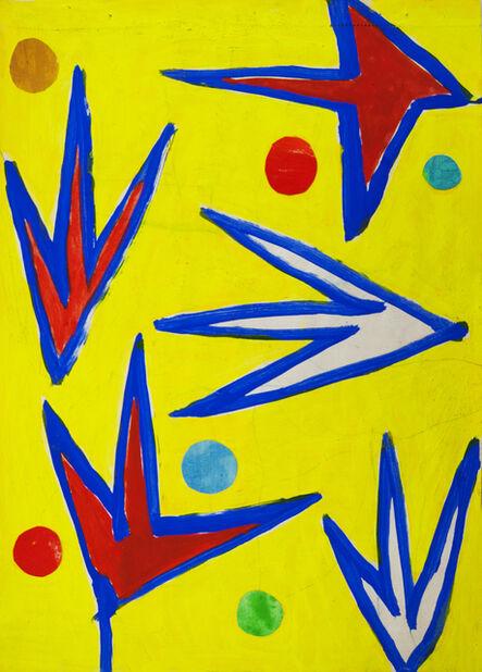 Nicola De Maria, 'Cento Giorni', 1992