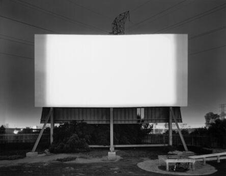 Hiroshi Sugimoto, 'South Bay Drive-In, South Bay', 1993