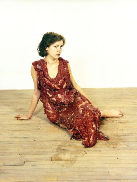 Jana Sterbak, 'Vanitas: Flesh Dress For An Albino Anorectic', 1987