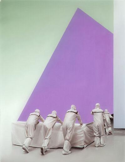 Sam Leach, 'Pushing '