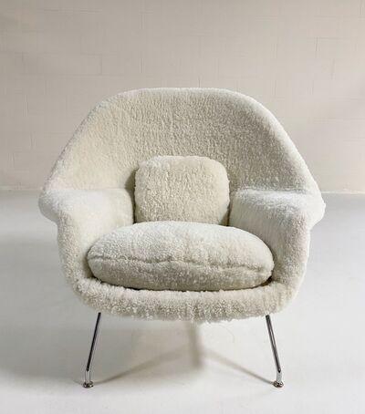 Eero Saarinen, 'Womb Chair in Australian Sheepskin', Mid 20th Century
