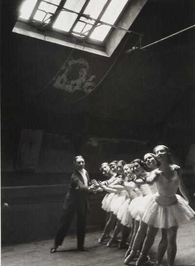 Alfred Eisenstaedt, 'Dancers Rehearse Swan Lake, Paris Opera'