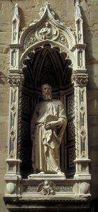 Donatello, 'St. Mark', orig. ca. 1411-13