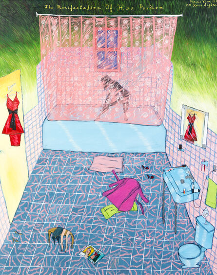 Hollis Sigler, 'The Manifestation of Her Problem', 1983