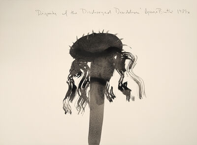 George Bartko, 'Dignity of the Discharged Dandelion', 1989
