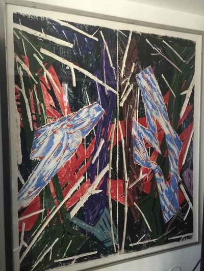 Charles Arnoldi, 'Untitled (diptych)', 1988