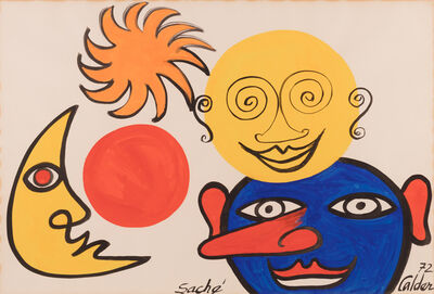 Alexander Calder, 'Saché', 1972