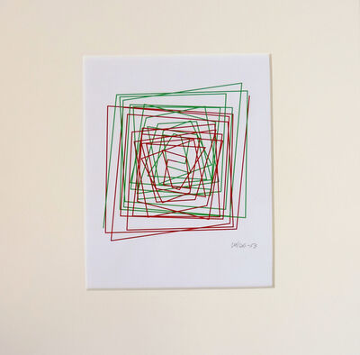 Vera Molnar, 'Ligne Brisée évoluant en spirale', 1996-2013