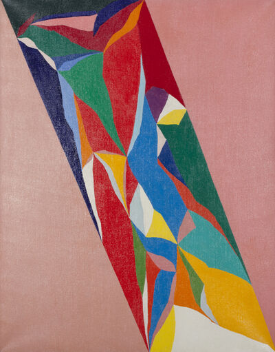 Piero Dorazio, 'Summit II°', 1971