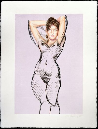 Mel Ramos, 'Unfinished Painting #5', 1998