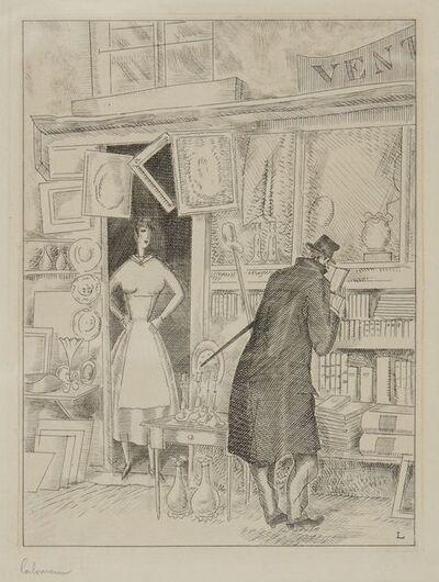 Jean-Emile Laboureur, 'Le Fureteur', 1929