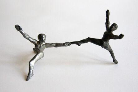 Briony Marshall, 'Carbon pair bronze', 2015