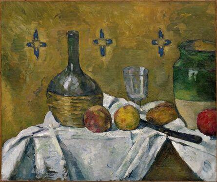 Paul Cézanne, 'Still Life: Flask, Glass, and Jug (Fiasque, verre et poterie)', ca. 1877
