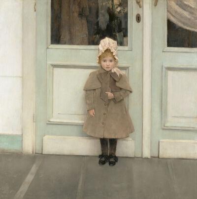 Fernand Khnopff, 'Jeanne K'fer', 1885