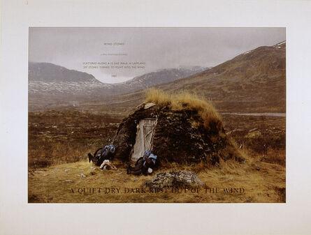"Richard Long, 'Wind Stones (from the portfolio ""For Joseph Beuys"")', 1986"