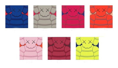 KAWS, 'What Party (Set of 7)', 2020