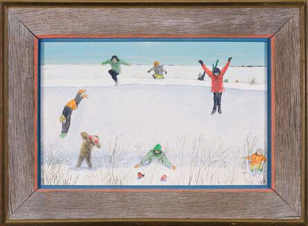 William Kurelek, 'Soft Snow Below', 1973