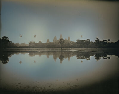 Binh Danh, 'Reflection of Angkor Wat Temples, Siem Reap', 2017