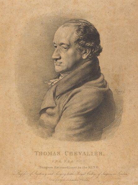 John Linnell, 'Thomas Chevalier', 1825