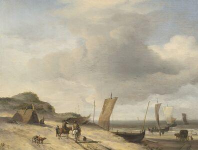 Adriaen van de Velde, 'Dunes at Scheveningen', ca. 1659