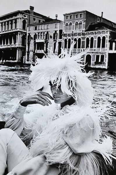 Helmut Newton, 'Woman in Venice', 1966