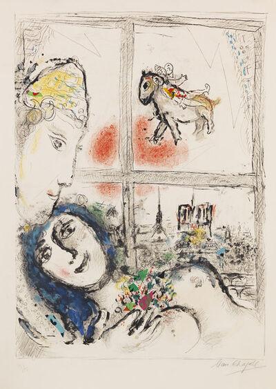Marc Chagall, 'Paris de la fenetre', ca. 1969/70