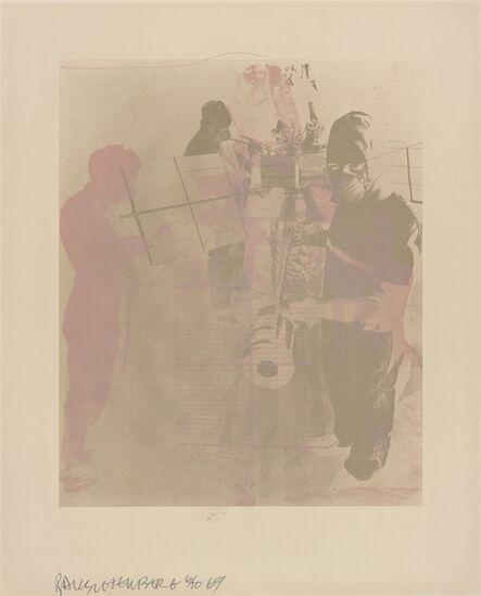 Robert Rauschenberg, 'Shell (Stoned Moon)', 1969
