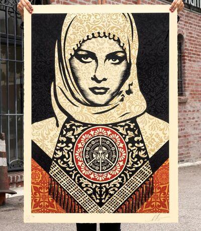 Shepard Fairey, 'Arab Woman', 2019