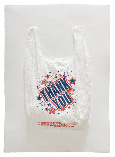 Analía Saban, 'THANK YOU Plastic Bag', 2016