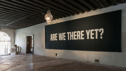 Kameelah Janan Rasheed, 'Are We There Yet? (and other questions of proximity,destination, and relative comfort)', 2017