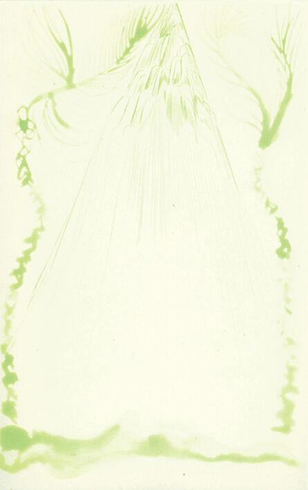 Chris Ofili, 'Rainbow-Green Riann', 2008