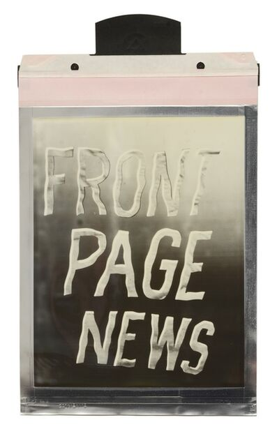 Corey Escoto, 'Front Page News', 2016