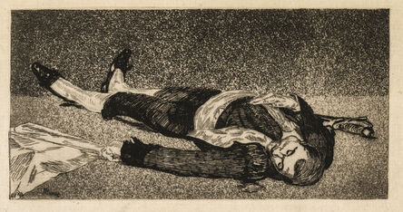 Édouard Manet, 'Dead Toreador', 1867-1868