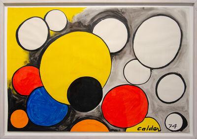 Alexander Calder, 'Appearing Orbs', 1974