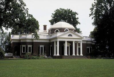 Thomas Jefferson, 'Monticello, near Charlottesville (Albemarle County), VA',  1769, 1784; rebuilt and enlarged 1796, 1809