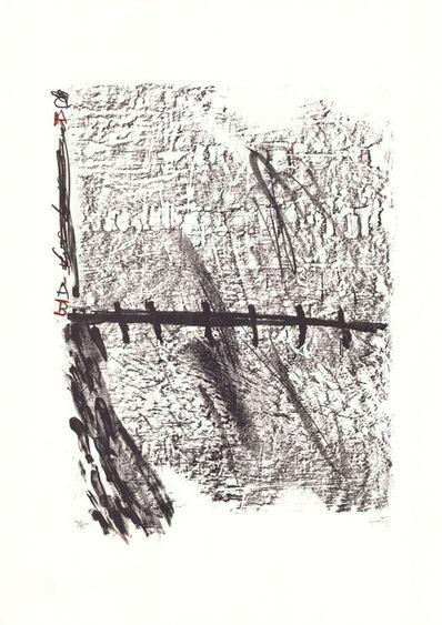 Antoni Tàpies, 'La Nuit grandissante', 1960-1970