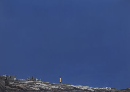 Tim Eitel, 'Blue Sky (Ruins)', 2018