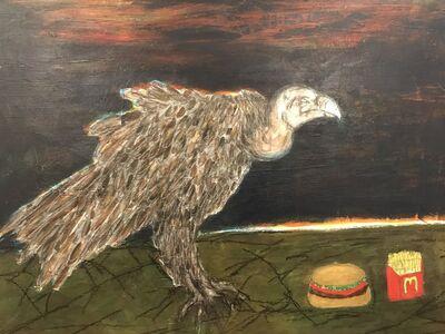 Morrison Pierce, 'The last cheeseburger in hell (vulture)', 2019