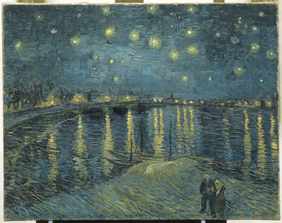 Vincent van Gogh, 'The Starry Night over the Rhone at Arles', 1888