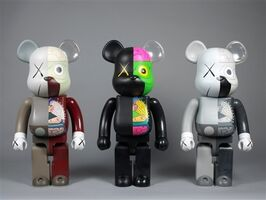 KAWS, 'KAWS Bearbrick Dissected 400% (Set of 3)', 2010