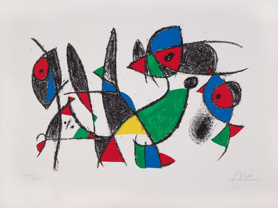 Joan Miró, 'Miró Lithographs II.', 1975