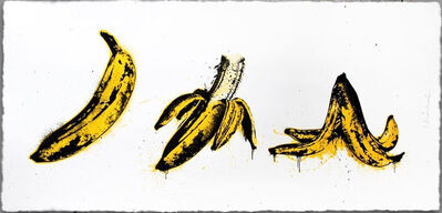 Mr. Brainwash, 'Banana Split (White)', 2015