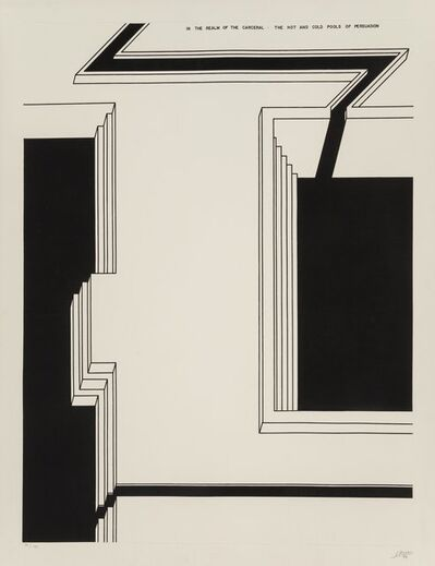 Robert Morris (b. 1931), 'The Hot and Cold Pools of Persuasion', 1979