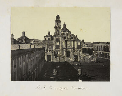 Claude Joseph Désiré Charnay, 'Santo Domingo, Mexico', 1858