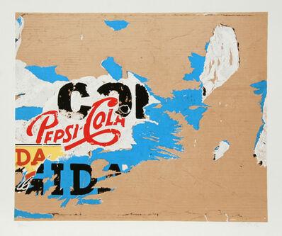 Mimmo Rotella, 'Pepsi', 1979