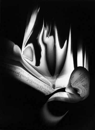 """Suzie Maeder, 'Score by Roland Moser 3  """"Kleines Exercitium zum Gedicht Kirchberg von Klaus Merz""""', 1998"""