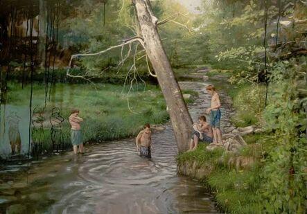 Juan Luis Jardi, 'Children in the River', 2017
