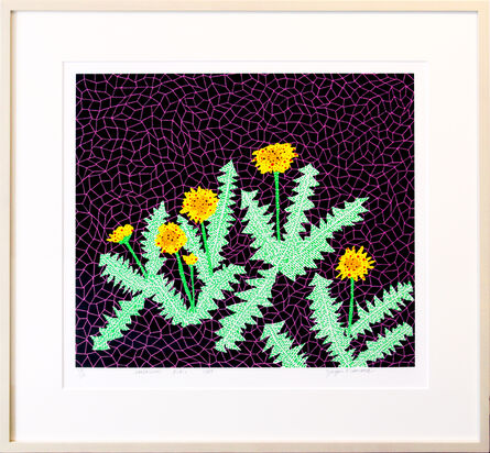 Yayoi Kusama, 'DANDELIONS', 1985