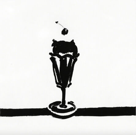 Wayne Thiebaud, 'Tulip Sundae', 2015
